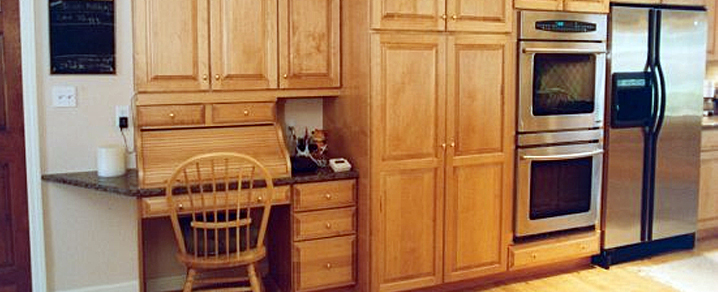 kitchen pantry and bread box